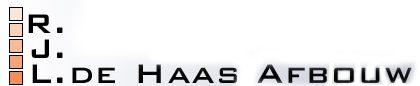 Stukadoor Lisse, Gebr. de Haas afbouw